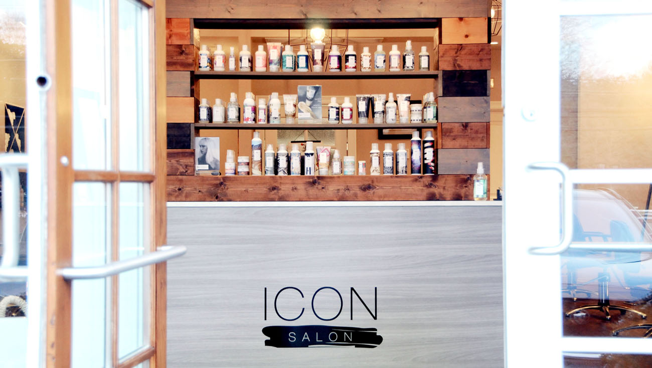 ICON Salon Front entrance